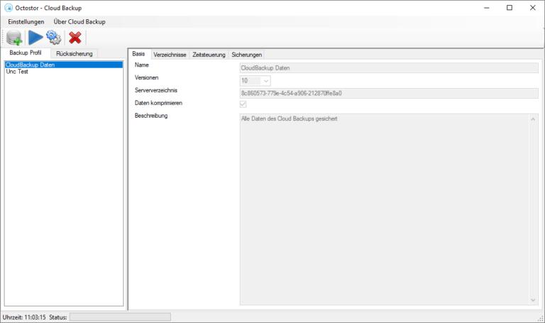 Octostor Backup Software